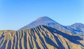 Popular volcano in asia Royalty Free Stock Image