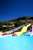 Popular water park Royalty Free Stock Photography