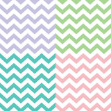 Popular zigzag chevron pattern Royalty Free Stock Images