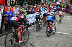 Popularitet av kvinnors sport Royaltyfria Foton