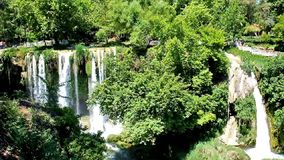 Popularna siklawa w Antalya zbiory