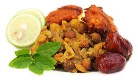 Popularne Iftar rzeczy dla święty Ramadan Fotografia Stock