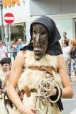 Popularne tradycje Sardinia Zdjęcia Royalty Free