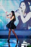 Popularnego piosenka pierwszy chybienie Jiangxi Międzynarodowy konkurs Obrazy Royalty Free