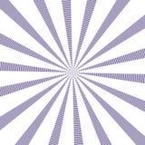 Popularnego wektorowego słońce promieni tła ultrafioletowy kolor Sunburst wzór Popularny kolor 2018 rok ultrafioletowych Wektorow Zdjęcia Royalty Free