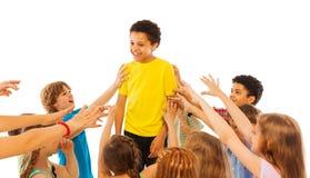 Popularny dzieciak w klasie Zdjęcie Stock