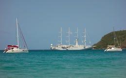 Popularny turystyczny miejsce przeznaczenia w karaibskim Zdjęcie Stock