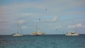 Popularny turystyczny miejsce przeznaczenia w karaibskim Obrazy Royalty Free