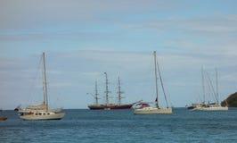 Popularny turystyczny miejsce przeznaczenia w karaibskim Zdjęcia Stock