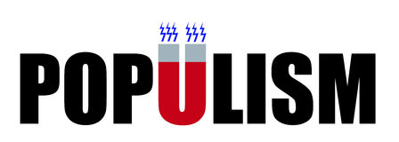 populisme Royalty-vrije Stock Foto's