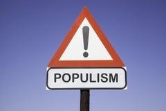 Populismo da atenção Imagem de Stock