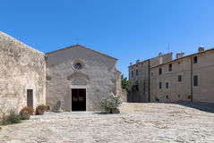populonia Тоскана Стоковое Изображение