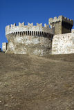 Populonia Castle Stock Photography