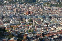 Populous city of Alanya. In Turkey at spring time Royalty Free Stock Photos