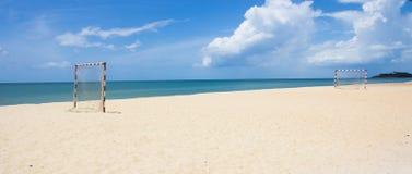 Populär sport för strandfotbollgrad Royaltyfria Foton