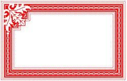 Populärt motiv, modell, vanligt motiv, bordduk Royaltyfri Fotografi