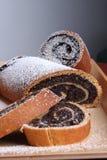 Popy seeds cake Royalty Free Stock Photography