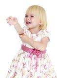 Porównawcza dziewczyna w długiej sukni Obraz Royalty Free