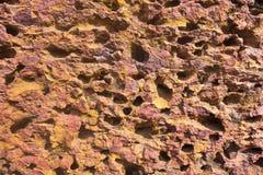 Porös abstrakt textur av stenyttersida Royaltyfri Bild