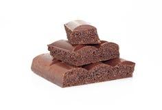 porös svart choklad Fotografering för Bildbyråer