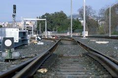 poręcza pociąg Zdjęcie Royalty Free