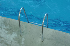 Poręcze dla schodków z wody Fotografia Royalty Free