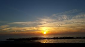 Por делает sol e mar Стоковое Изображение RF