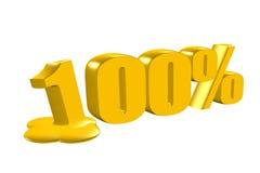 Por cento da redução Fotos de Stock Royalty Free