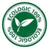 100 por cento ecológicos Fotos de Stock Royalty Free