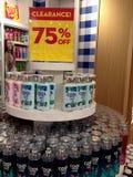 75 por cento fora da liquidação total Foto de Stock Royalty Free