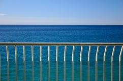 poręcza morze Obrazy Royalty Free