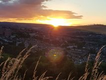Por do sol Fotos de Stock Royalty Free