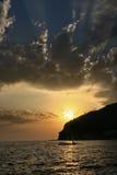 Por do sol 2 Imagem de Stock Royalty Free