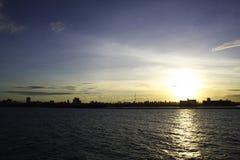 Por do sol Fotos de Stock