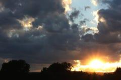 Por do sol Imagens de Stock Royalty Free
