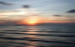 Por do sol abstrato da natureza fotografia de stock royalty free