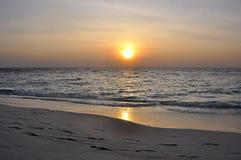 Por do sol bonito Foto de Stock Royalty Free