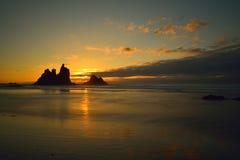 Por do sol bonito do fundo Fotos de Stock Royalty Free