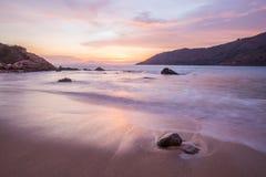 por do sol bonito em phuket Tailândia Imagens de Stock Royalty Free