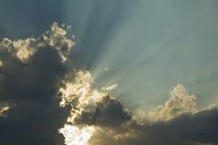 Por do sol calmo bonito imagens de stock royalty free