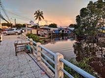 Por do sol da ilha do quoc de Phu, Vietnam Fotografia de Stock Royalty Free