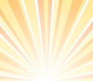 Por do sol da ilustração Fotografia de Stock Royalty Free