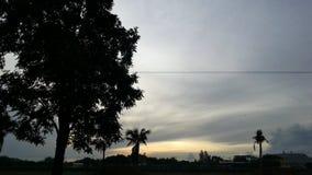 por do sol da manhã Imagem de Stock