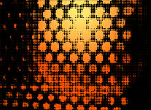 Por do sol da microonda Foto de Stock