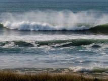 Por do sol da praia de Grayland Imagens de Stock