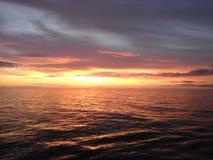 Por do sol 2 de Alaska Fotografia de Stock Royalty Free