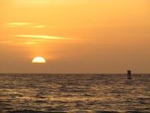Por do sol de Bouie Fotografia de Stock Royalty Free