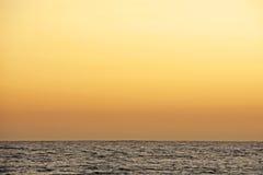 Por do sol de Califórnia Fotografia de Stock