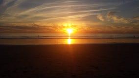 Por do sol de Carlsbad Califórnia Imagens de Stock Royalty Free