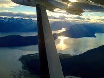 Por do sol de Chilkat Imagens de Stock Royalty Free